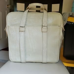 Vintage Samsonite Silhouette cream Tote, Handbag